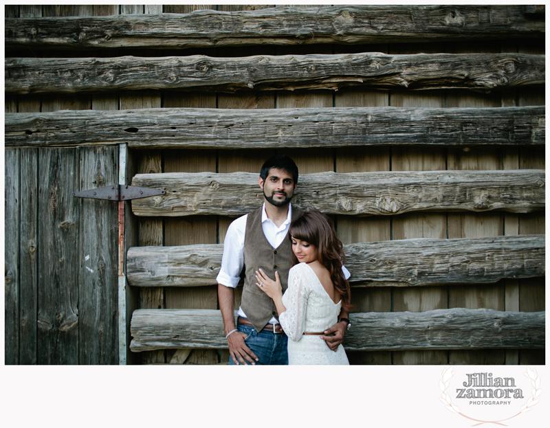 rustic vintage cedar hill state park engagement photography _13