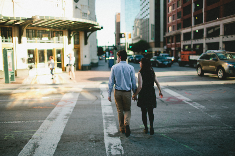 downtown fort worth engagement session _01