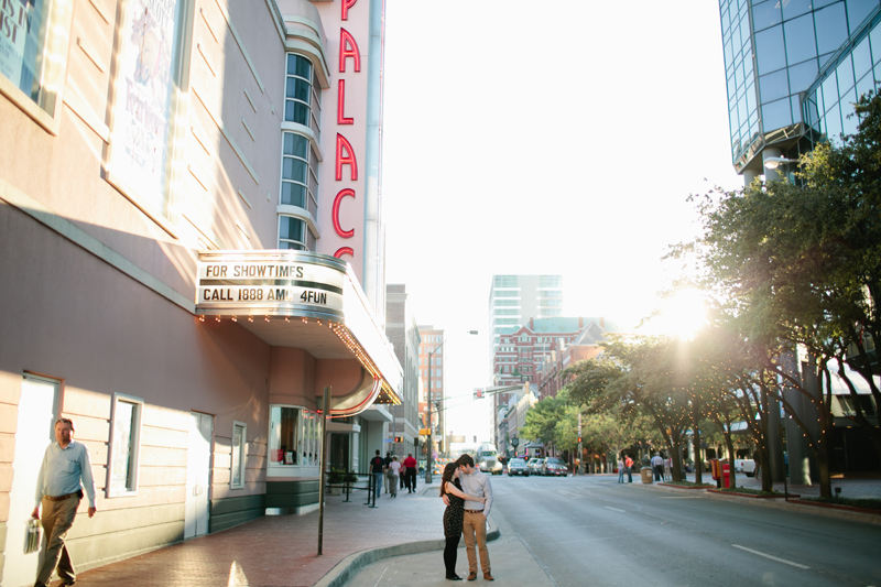 downtown fort worth engagement session _06