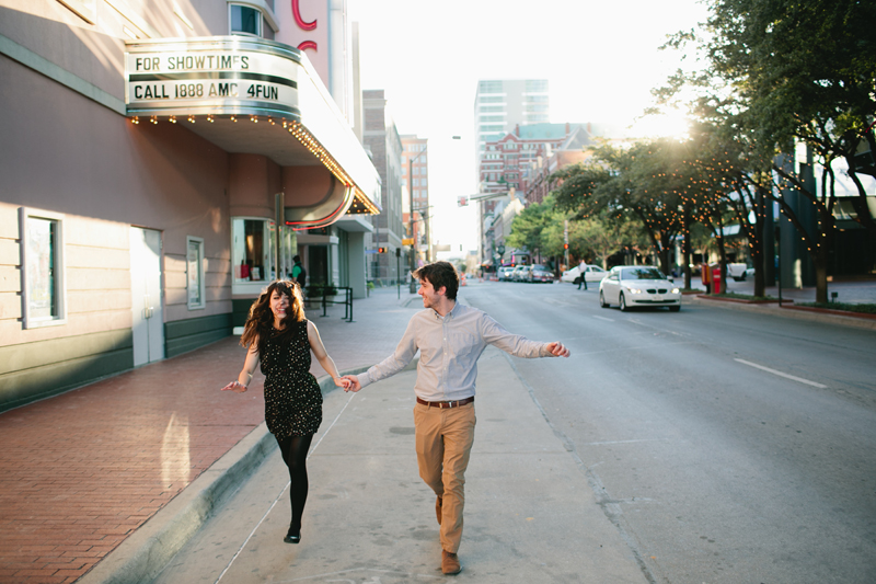 downtown fort worth engagement session _09
