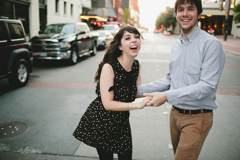 downtown fort worth engagement session _16