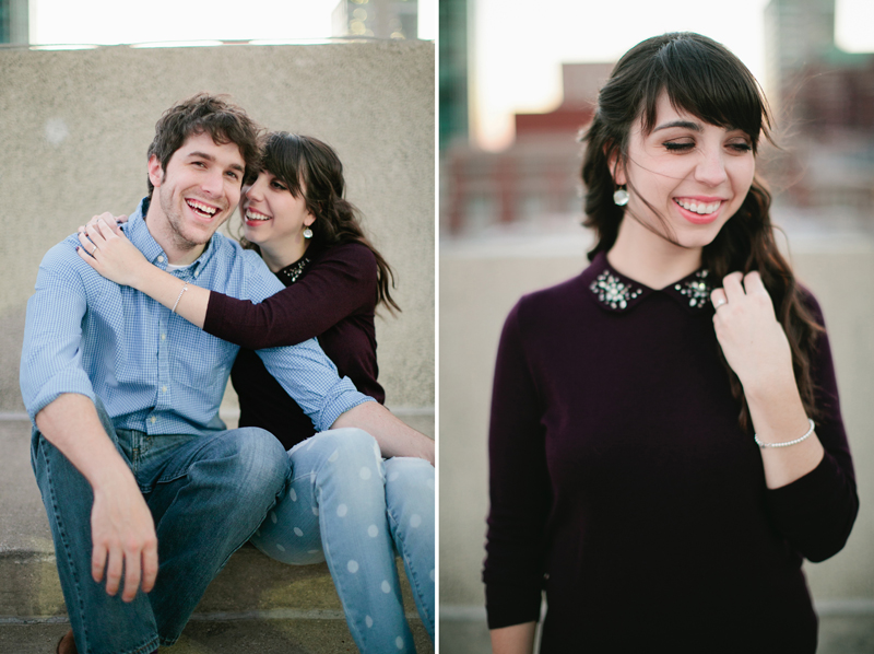 downtown fort worth engagement session _27ab