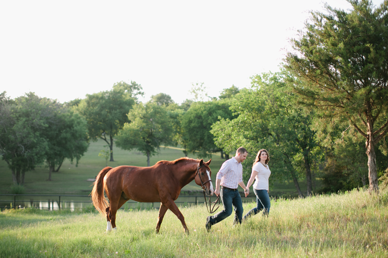 equestrian engagement session_28