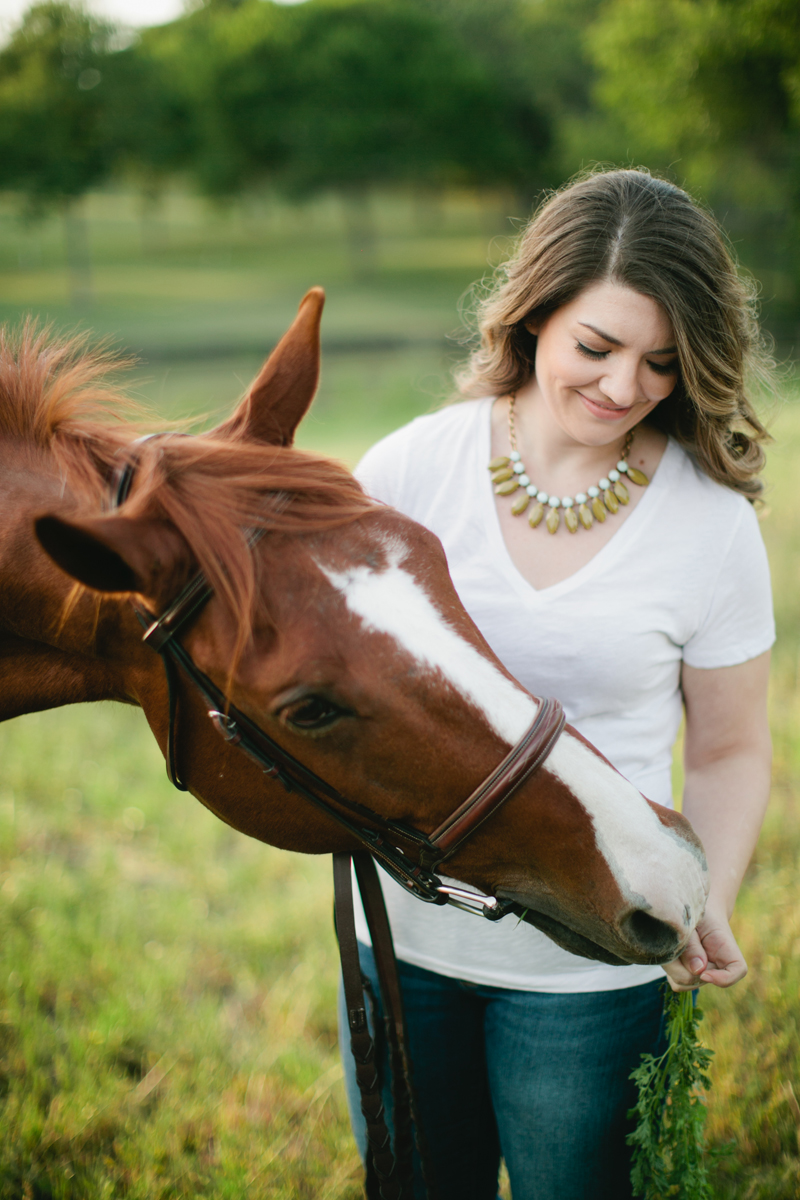 equestrian engagement session_31