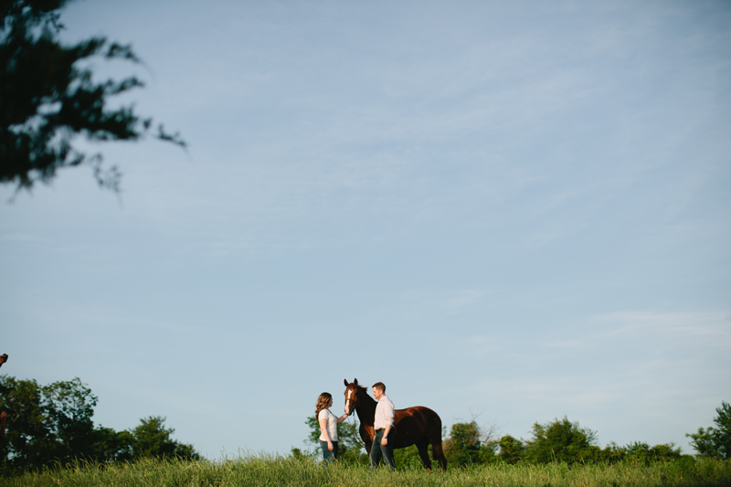 equestrian engagement session_32