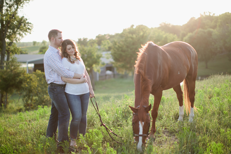 equestrian engagement session_38