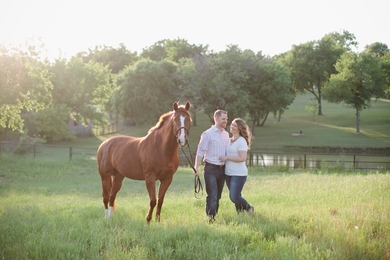 equestrian engagement session_41