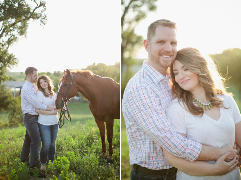 equestrian engagement session_42ab