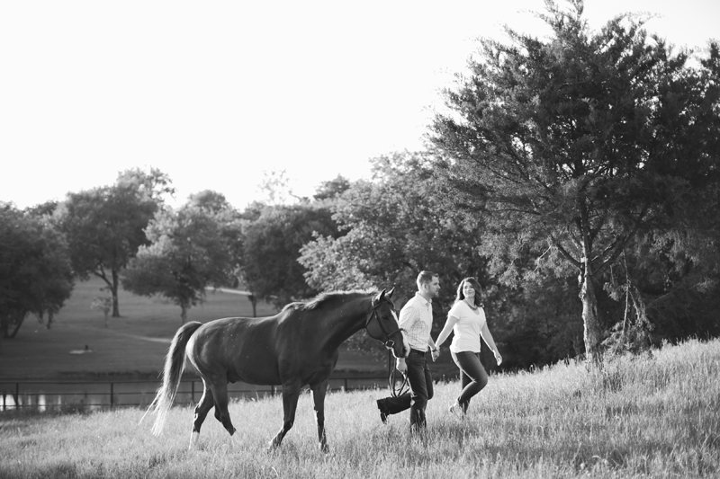 equestrian engagement session_44