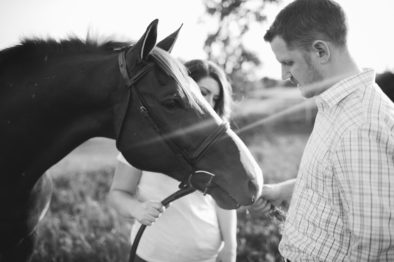 equestrian engagement session_45