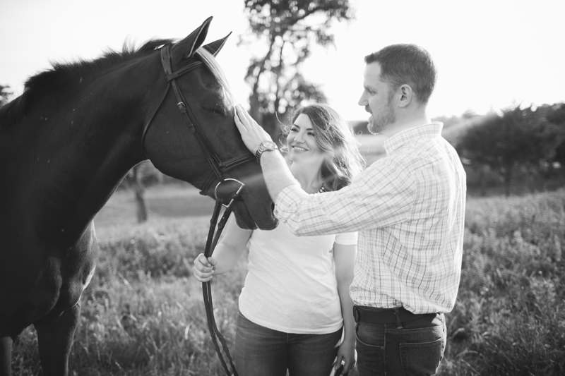 equestrian engagement session_49
