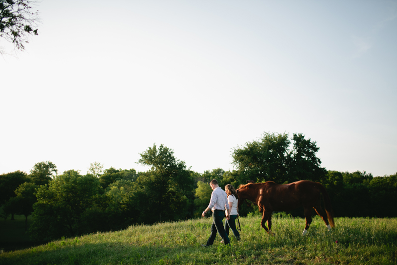 equestrian engagement session_51