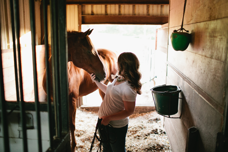 equestrian engagement session_53